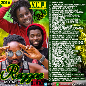 dj roy reggae mix vol.1 2016