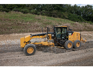 Caterpillar Motor Grader in Action   Photos and Images   Technology
