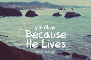 because he lives (amen) matt maher for band strings and horns