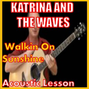 learn to play walking on sunshine by katrina and the waves