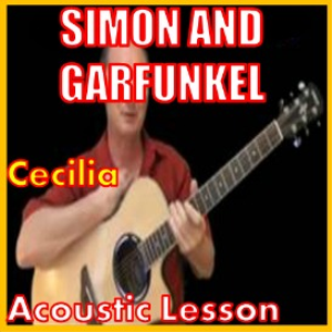 learn to play cecilia by simon and garfunkel