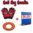 Ball Hog Glove size Medium + Ball Hog Grip & DVD Bundle (Download)   Movies and Videos   Sports