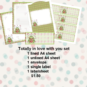 Totally in love with you set | Crafting | Paper Crafting | Other
