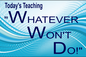 Whatever Won'T Do! | Audio Books | Religion and Spirituality