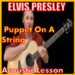 learn to play puppet on a string by elvis presley