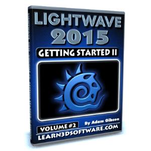 lightwave 2015-volume #2- getting started ii