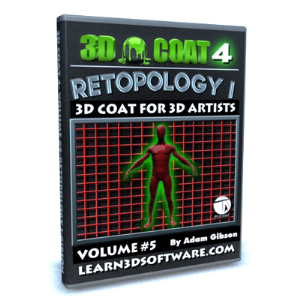 3d coat v4-vol.#5-retopology i