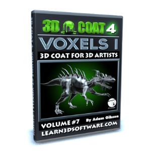 3d coat v4-vol.#7- voxels i