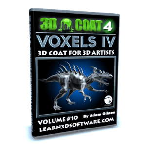 3d coat v4-volume #10- voxels iv