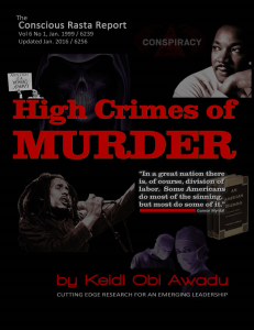 high crimes of murder