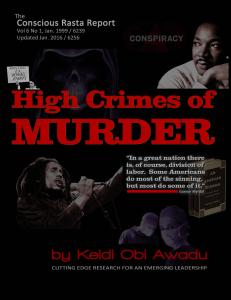 high crimes of murder