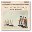 13 Anthems from the Oxford Book of Tudor Anthems - Choir of Christ Church Cathedral, Oxford - Simon Preston   Music   Classical