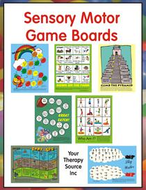 Sensory Motor Game Boards | eBooks | Education