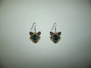 4 peyote cat delica seed beading earring patterns-429