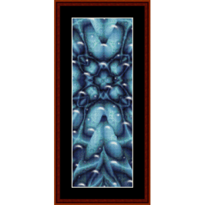 Fractal 268 Bookmark cross stitch pattern by by Cross Stitch Collectibles | Crafting | Cross-Stitch | Other