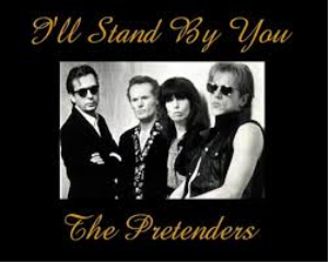 i'll stand by you the pretenders arranged for vocal solo, band and strings