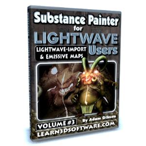 substance painter for lightwave users-volume #3- lightwave import & emissive maps