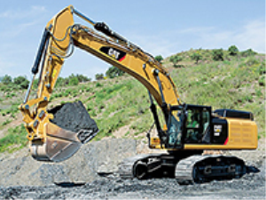 Caterpillar Excavator at the Construction Site | Photos and Images | Technology