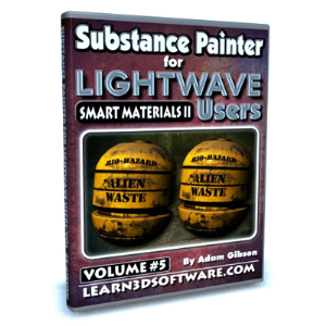 Substance Painter for Lightwave Users-Volume #5 | Software | Training