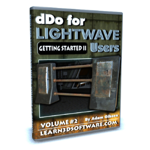 dDo for Lightwave Users-Volume #2- Getting Started II | Software | Training