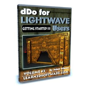 ddo for lightwave users-volume #3- getting started iii