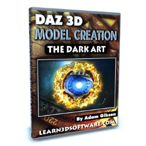 daz 3d model creation-the dark art