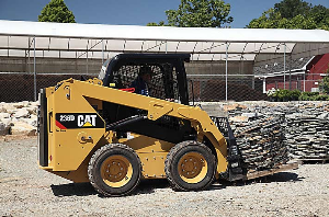 Caterpillar Skid Steer at the Construction Site | Photos and Images | Technology