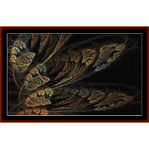 Fractal 543 cross stitch pattern by Cross Stitch Collectibles   Crafting   Cross-Stitch   Wall Hangings