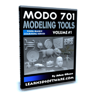MODO 701 Modeling Tools-Volume #1 | Software | Training