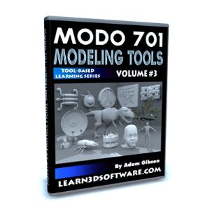 MODO 701 Modeling Tools-Volume #3   Software   Training