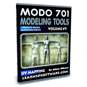 modo 701-modeling tools-vol.#9-uv mapping a human