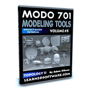 Modo 701-Modeling Tools-Volume #8- Topology II | Software | Training