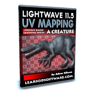 Lightwave 11.5 UV Mapping a Creature | Software | Training