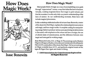 Isaac Bonewits - How does Magic Work? | Audio Books | Religion and Spirituality