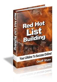 red hot list building with master resale rights