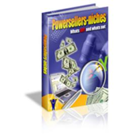 powerseller niches -with master resale rights