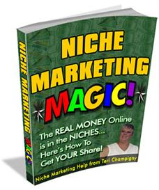 niche marketing magic with master resale rights