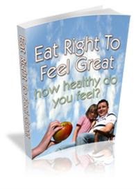 Eat Right TO Feel Great  (MRR) | eBooks | Food and Cooking