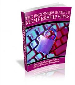 the beginners guide to membership sites (plr)