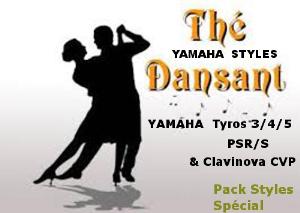 styles pack thé dansant