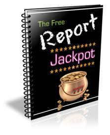 the free report jackpot with private labels rights
