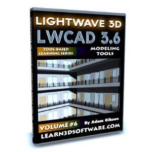 lwcad 3.6 modeling tools-volume #6