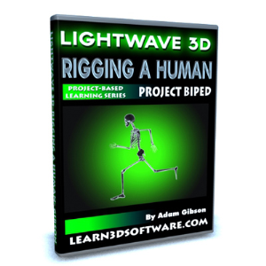 lightwave 10 rigging a human