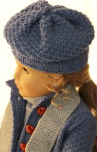 dollknittingpatterns 0141d sophia (januar) - anzug, jacke, mütze, socken und schal-(deutsch)