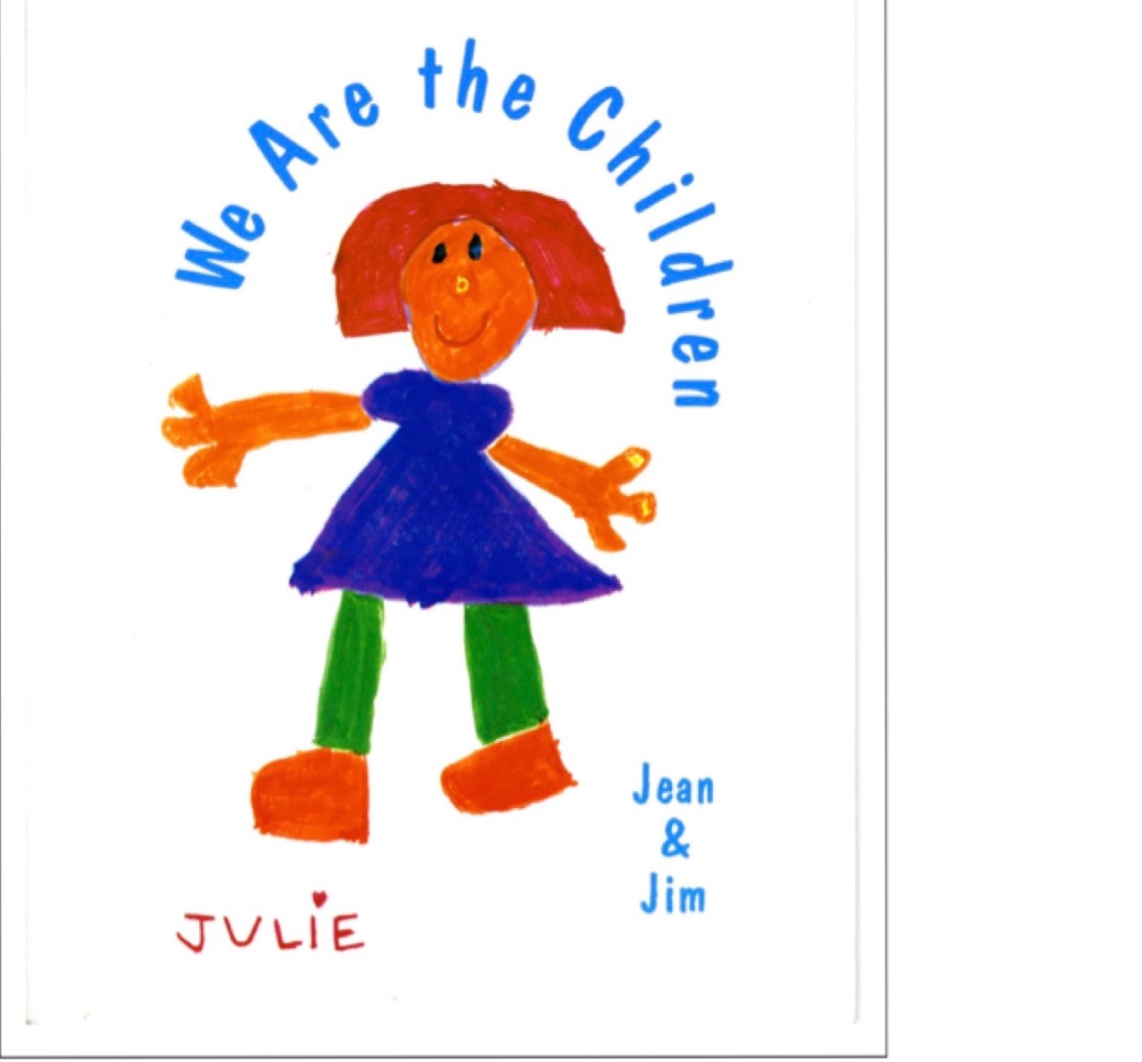 Third Additional product image for - We are the Children ~ Songbook & CD