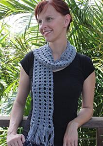 ewetopia tunisian crochet scarf