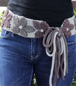 Sash-a Knitted Belt Pattern | eBooks | Arts and Crafts