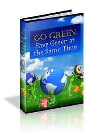 go green - save green and make a massive difference (private labels ri