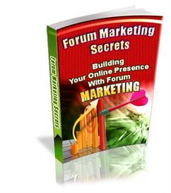 Forum Marketing Secrets | eBooks | Internet