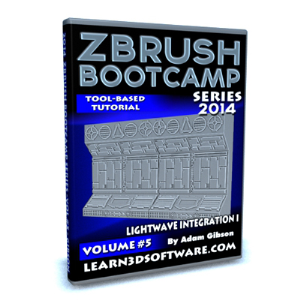 ZBrush  Bootcamp Series Volume #5-Lightwave Integration I | Software | Training